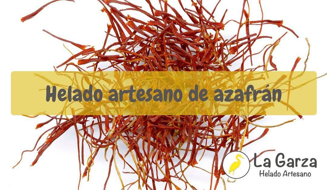 Helado Artesano de Azafrán – Receta Helados La Garza