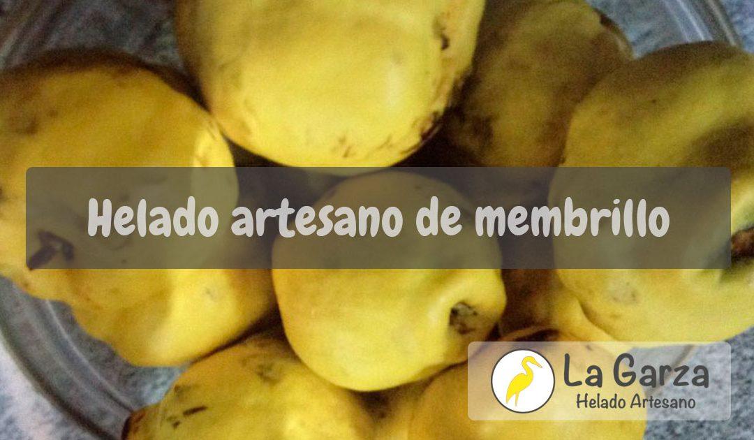 Helado Artesano de Membrillo – Receta Helados La Garza