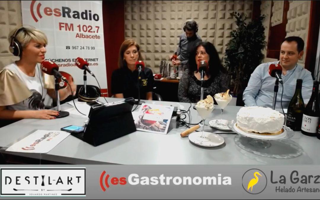 La Garza Helados Artesanos en EsGastronomía de EsRadio Albacete