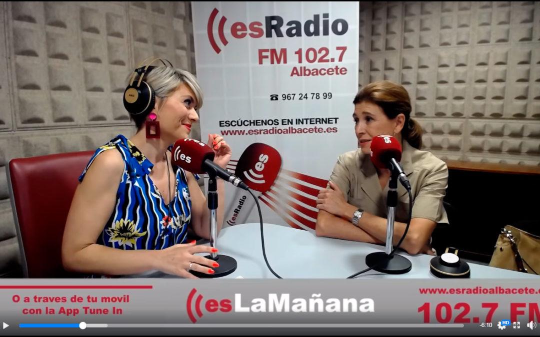 Entrevista en EsLaMañana en EsRadio con María García